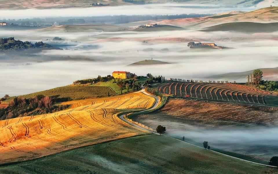 Itinerari in bici tra Brunello e Vino Nobile